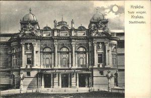 Krakau Stadttheater / Polen /