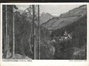 Volders Voldertal Volderwildbad Tirol / Volders /Innsbruck