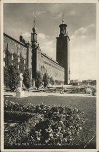 Stockholm Stadshuset Garden / Stockholm /