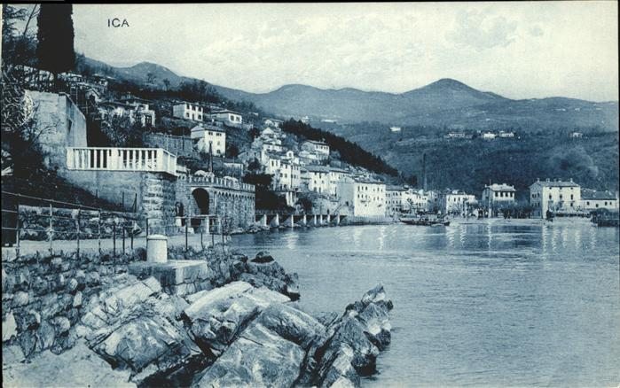 Abbazia Istrien ICA Panorama / Seebad Kvarner Bucht /Primorje Gorski kotar