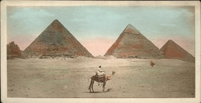 Cairo Egypt Pyramide Kamel / Cairo /