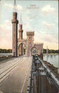 Cairo Egypt Barrage of the Nil  / Cairo /