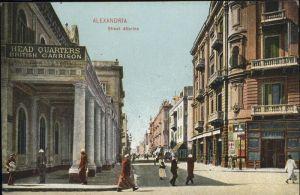 Alexandria Alexandrie Aegypten Street Attarine / Alexandria /