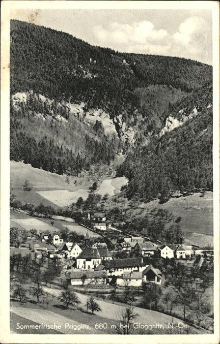 Prigglitz bei Gloggnitz / Prigglitz /Niederoesterreich-Sued