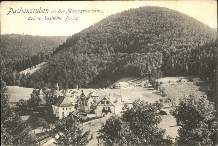 Puchenstuben Mariazellerbahn / Puchenstuben /Mostviertel-Eisenwurzen