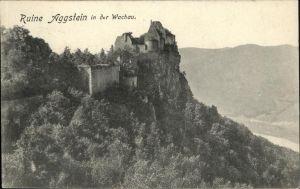 Schoenbuehel-Aggsbach Melk Ruine Aggstein Wachau / Schoenbuehel-Aggsbach /Mostviertel-Eisenwurzen