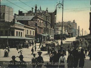 Melbourne Victoria Bourke Str.  Post Office / Melbourne /