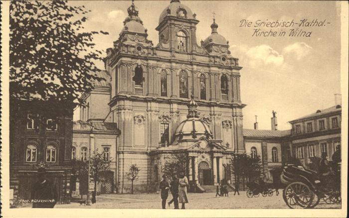 Wilna Griech.-kathol. Kirche / Litauen /