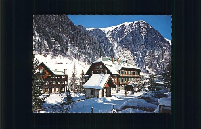 Bad Gastein Hoteldorf Gruener Baum Badgastein / Bad Gastein /Pinzgau-Pongau