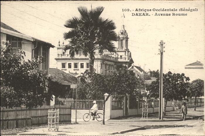Dakar Afrique Occidentale Senegal / Dakar /