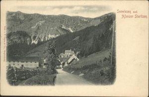 Seewiesenthal Seewiesen Aflenzer Staritzen / Oesterreich /