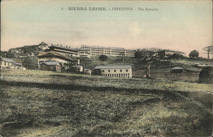 Sierra Leone Freetown Barracks / Sierra Leone /