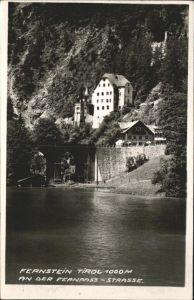 Fernsteinsee  / Nassereith /Tiroler Oberland