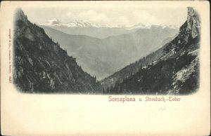 Scesaplana Streubach Tober / Schesaplana Raetikon /