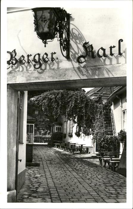 Wien Karl Berger Heuriger / Wien /Wien
