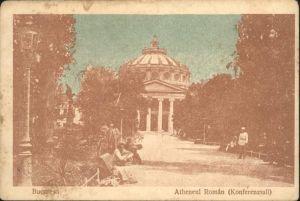 Bucuresti Atheneul Roman / Rumaenien /