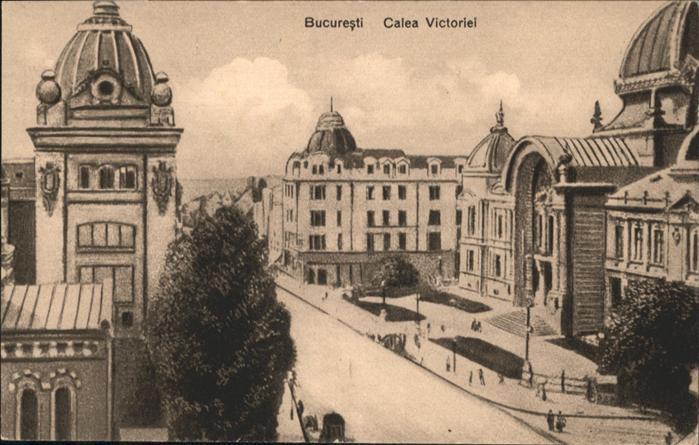 Bucuresti Calea Victoriei / Rumaenien /