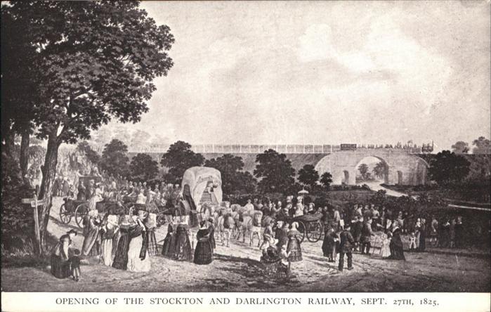 Darlington Stockton Railway Pferde / Darlington /Darlington