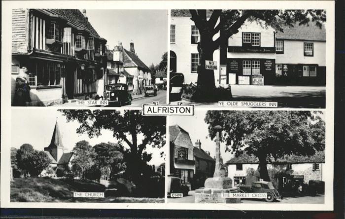 Alfriston Star Inn, Olde Smugglers Inn, Church, Market Cross / Wealden /East Sussex CC