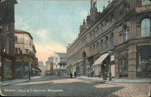 Bradford Market Hall Kirkgate / Bradford /Bradford