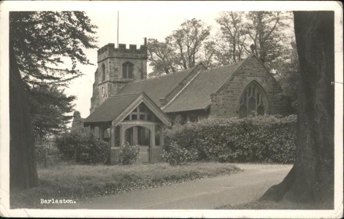 Barlaston & Oulton Church / Stafford /Staffordshire CC