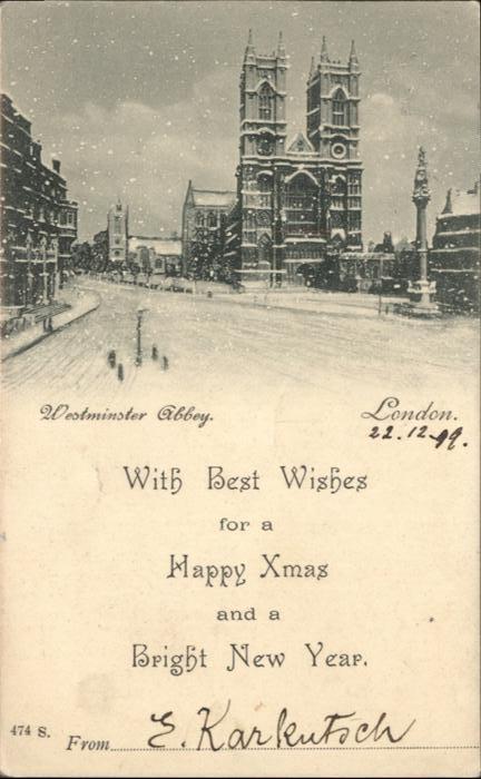 London Westminster Abbey / City of London /Inner London - West