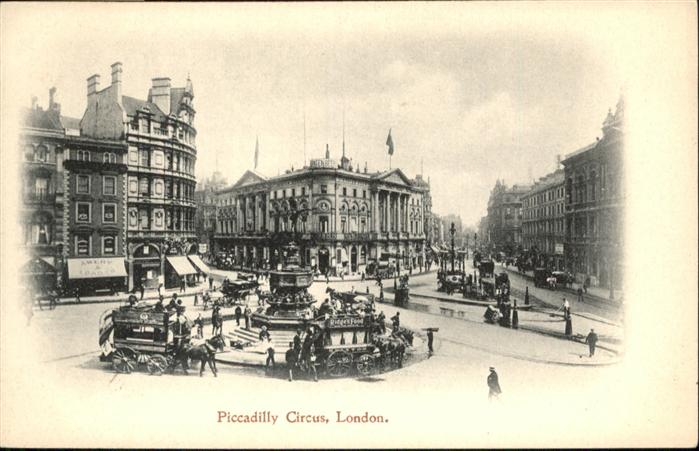 London Piccadilly Circus / City of London /Inner London - West