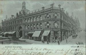 Bradford Market Buildings / Bradford /Bradford