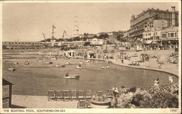 Southend-on-Sea Boating Pool / Southend-on-Sea /Southend-on-Sea