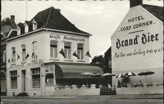 Roermond Hotel Cafe Restaurant Cosy Corner x