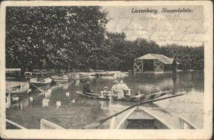 Laxenburg Stappelplatz Boot Schwanz