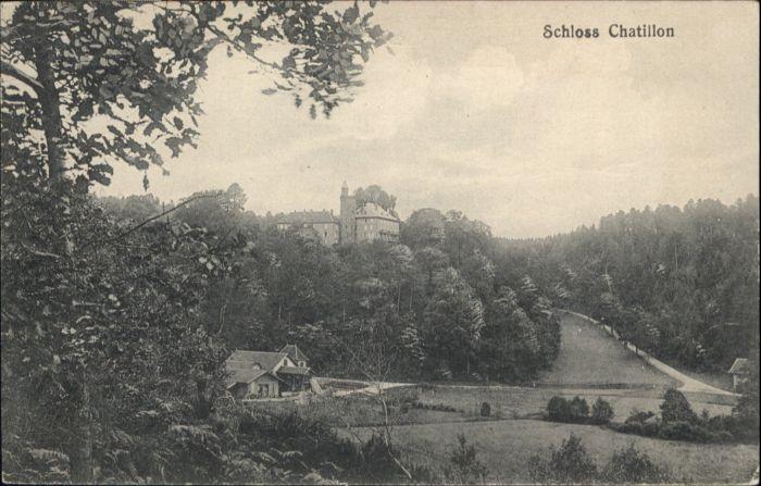 Chatillon Valle d Aosta Schloss * / Aostatal Italien /
