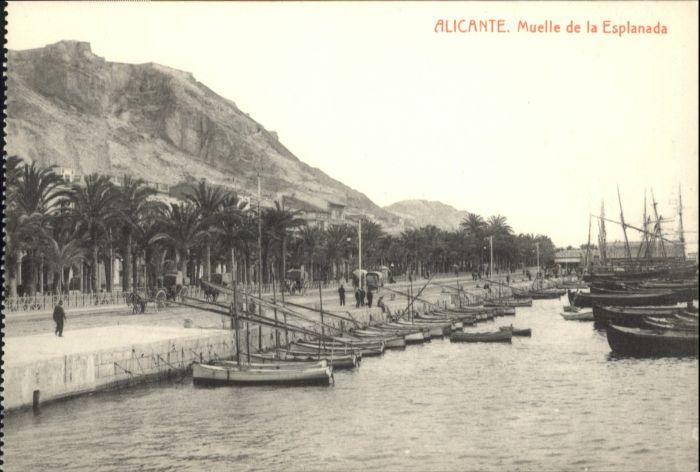 Alicante Muelle Esplanada *