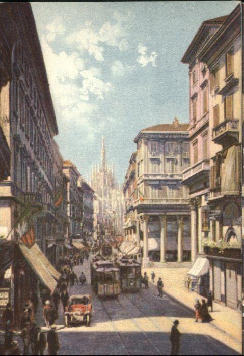 Milano Strassenbahn Corso Vittorio Emanuele *