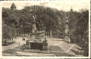ws91792 Breslau Niederschlesien Breslau Kaiser Wilhelm Denkmal * Kategorie. Wroclaw Alte Ansichtskarten