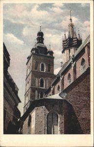 Krakau Krakow Krakau Marienkirche  * / Polen /
