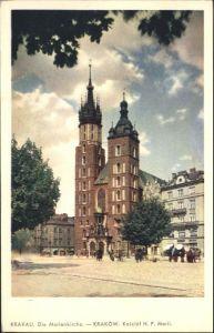 Krakau Krakow Krakau Marienkirche Krakow Kosciol Marii * / Polen /