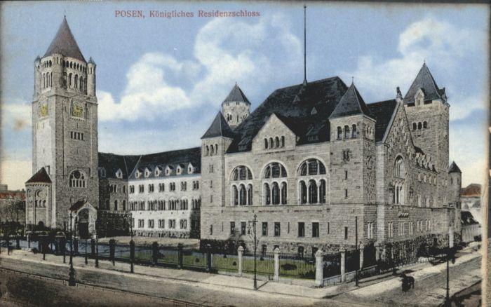Posen Poznan Posen Schloss * / Poznan /