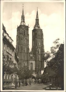 ws92126 Breslau Niederschlesien Breslau Dom * Kategorie. Wroclaw Alte Ansichtskarten