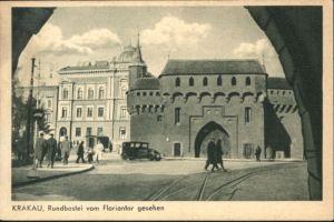 Krakau Krakow Krakau Rundbastei Floriantor * / Polen /