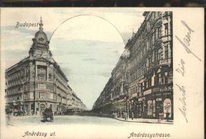 Budapest Andrassy Ut Andrassy-Strasse x