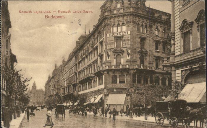 Budapest Kossuth Lajos-Utca Kossuth Lajos-Gasse x