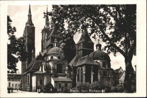 wu84438 Breslau Niederschlesien Breslau Dom x Kategorie. Wroclaw Alte Ansichtskarten