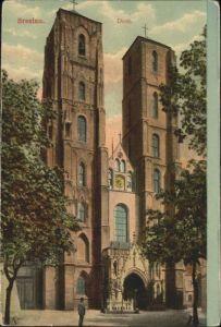 wu84439 Breslau Niederschlesien Breslau Dom * Kategorie. Wroclaw Alte Ansichtskarten