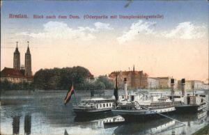 wu87515 Breslau Niederschlesien Breslau Dom Schiff x Kategorie. Wroclaw Alte Ansichtskarten