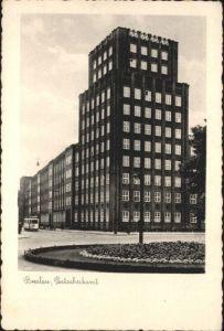 wu87537 Breslau Niederschlesien Breslau Postscheckamt x Kategorie. Wroclaw Alte Ansichtskarten