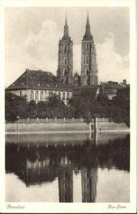 wu87588 Breslau Niederschlesien Breslau Dom * Kategorie. Wroclaw Alte Ansichtskarten