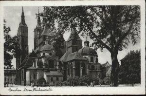 wu87595 Breslau Niederschlesien Breslau Dom x Kategorie. Wroclaw Alte Ansichtskarten