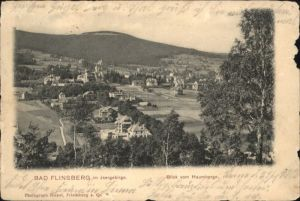 Bad Flinsberg Swieradow Zdroj Bad Flinsberg Blick vom Haumberg x /  /