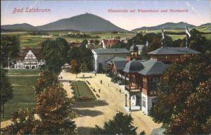 Bad Salzbrunn Elisenhalle Wiesenhaus Hochwald *